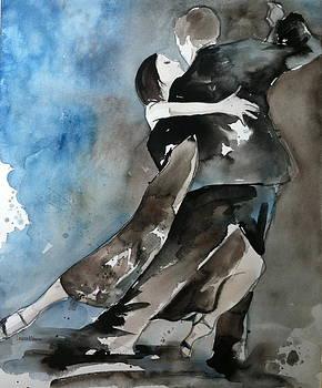 Michelle and Joachim by Lauren Bolshakov