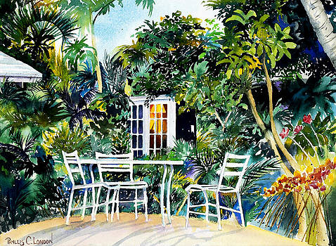 Michelle and Scott's Key West Garden by Phyllis London