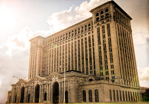 Michigan Central Station by Mike Lanzetta
