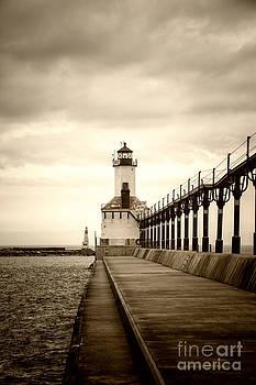 Michigan City Lighthouse by Timothy Johnson