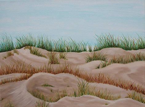 Michigan Dunes by Brandy Gerber