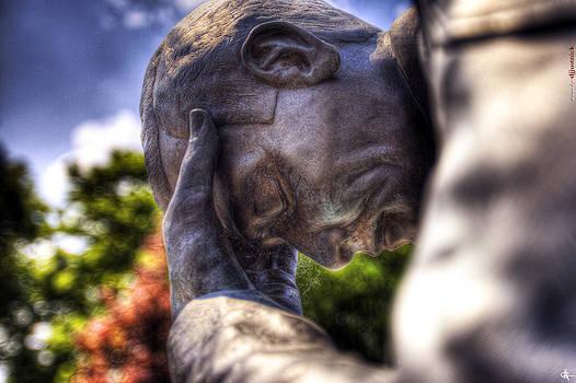Michigan Fallen Heroes Memorial Pontiac MI by A And N Art