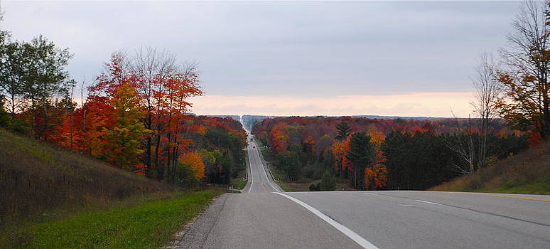 Michigan in the fall by Amanda Letcavage