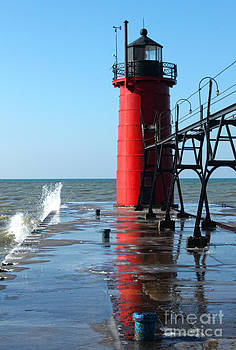 Gregory Dyer - Michigan Red Lighthouse