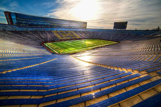 Michigan Stadium - The Big House by Mike Lanzetta