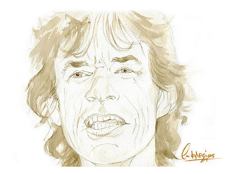 Mick Jagger by David Iglesias