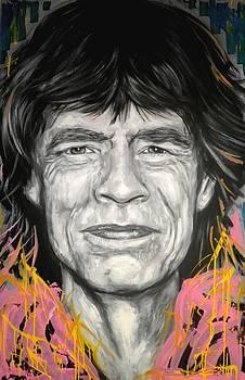Mick Jagger by Tamara Vogrin Tara