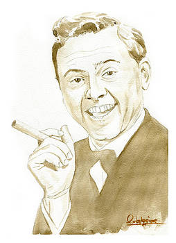 Mickey Rooney by David Iglesias