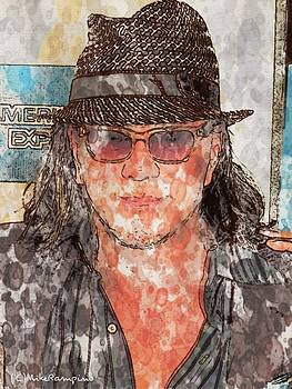 Mickey Rourke  by Mike Rampino