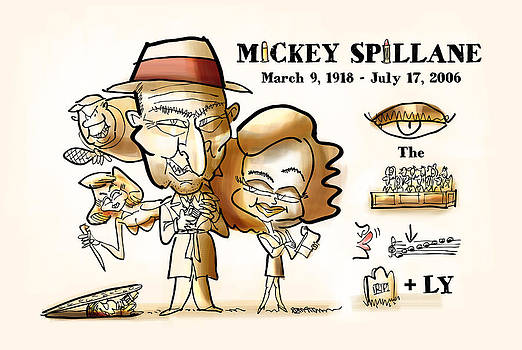 Mickey Spillane by Mark Armstrong