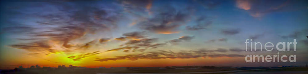 Mid-Continent Sunrise by Jeremy Linot