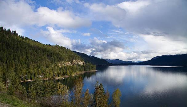 Midday at Christina Lake BC by Carol Hathaway