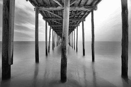 Midday Under The Pier by Edward Kreis