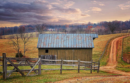 Middleburg Virginia Countryside by Scott Fracasso