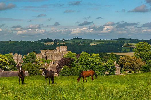 David Ross - Middleham Castle