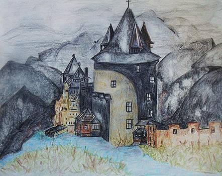 Midievil Castle by Deborah Gorga