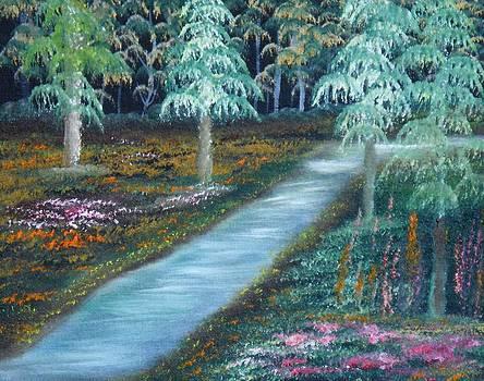 Midnight Blooms by John Minarcik