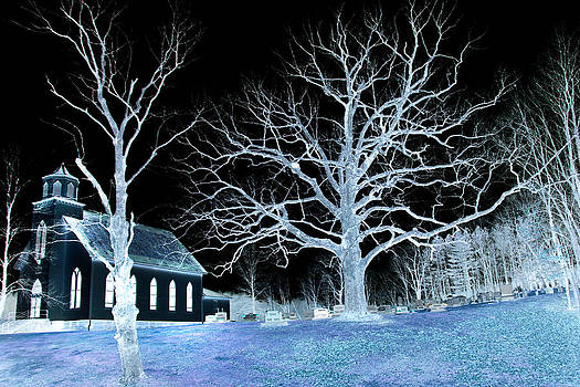 Midnight Country Church by David Yocum