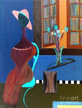 Midnight on the Terrace by Bill OConnor