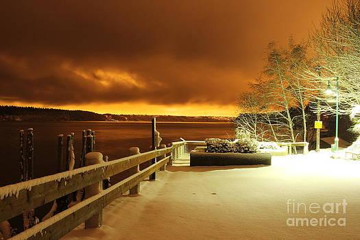 Midnight Snow by Ken  Rosholt