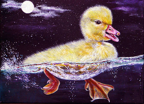 Midnight Swim by Ann Marie Bone