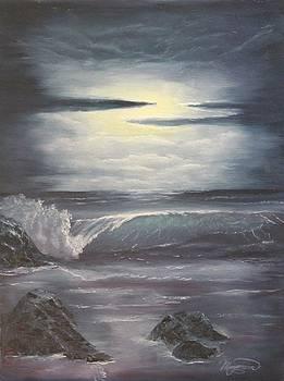 Midnight Walk by Lou Magoncia