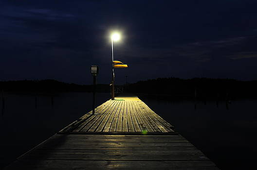 Midnight's dock by Eliot Freed