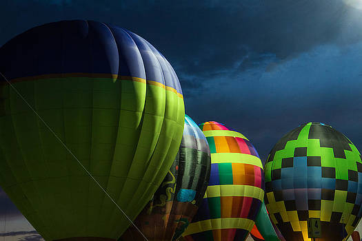 Midwest Balloon Glow by Steven Bateson
