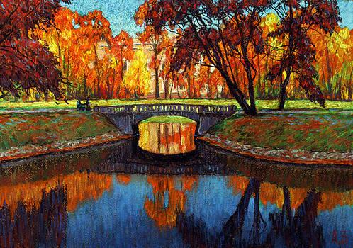 Mikhailovsky Garden by Aleksey Zuev