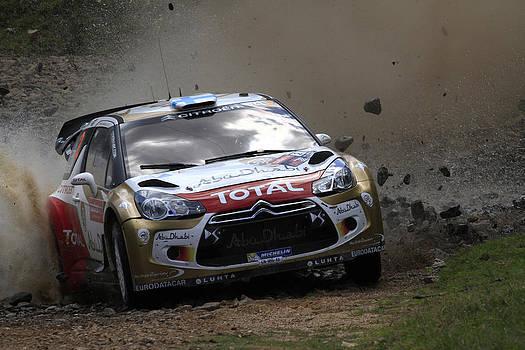 Noel Elliot - Mikko Hirvonen FIA World Rally Championship Australia