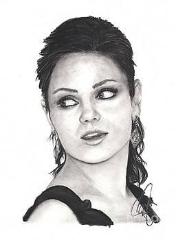 Mila Kunis by Rosalinda Markle