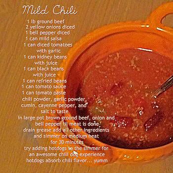 Mild Chili Recipe by Melissa Osborne