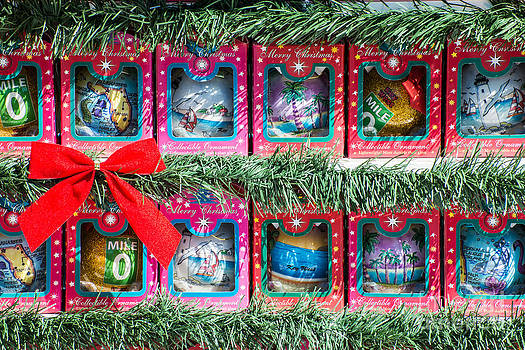 Ian Monk - Mile Marker 0 Christmas Decorations Key West 4
