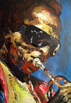 Miles Davis Art Print by J Nance