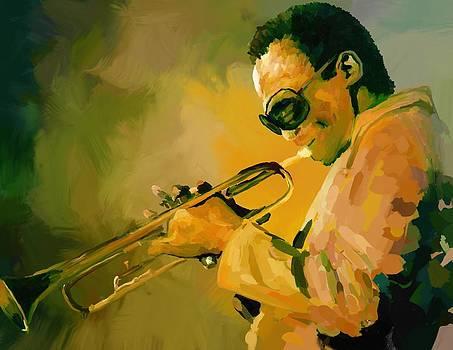 Miles Davis by Robert Wheater