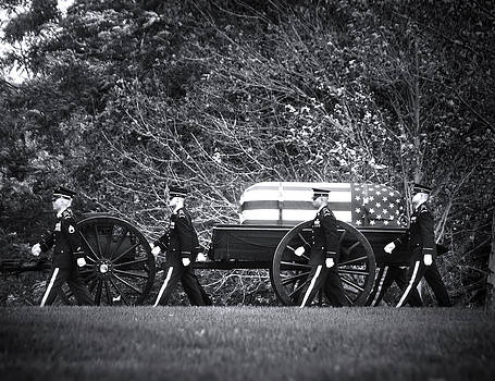 Military Funeral by Mark Andrew Thomas