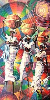 Milk Sellers by Omidiran Gbolade