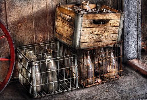 Mike Savad - Milkman - Bottles in Boxes