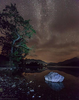 Milky Way at Gwenant by Beverly Cash