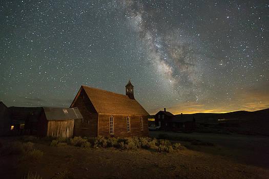 Milky Way Over Bodie Church by Jeff Sullivan