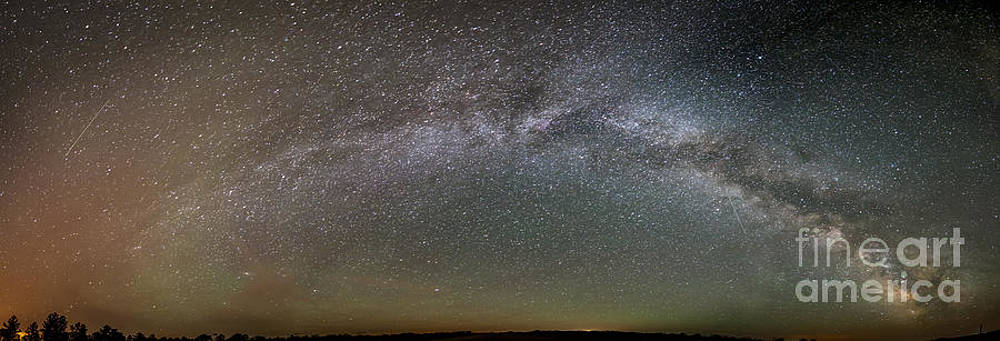 Milky Way over Chadron State Park by Chuck Smith