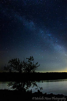 Milky Way over Pennsylvania by Michelle Nixon