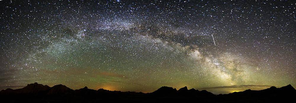 Milky Way Panoramic by Jennifer Brindley