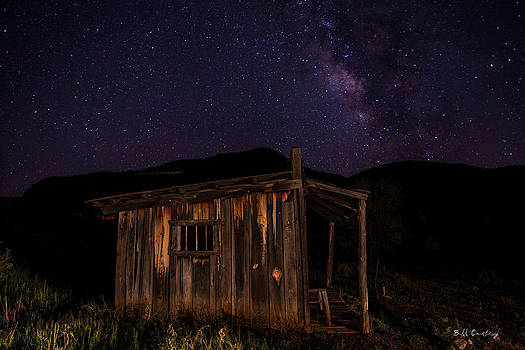 Milky Way Rising by Bill Cantey