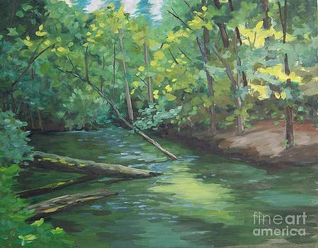 Mill Creek  by Cynthia Riley