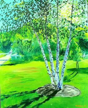 Mill Creek Quartet by Jack Riddle