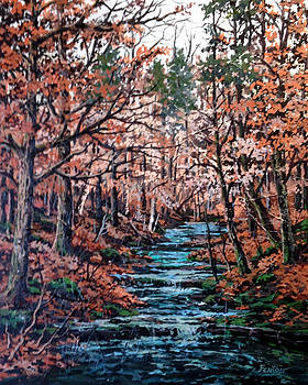 Mill Creek by W  Scott Fenton