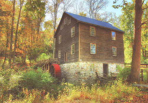 Millbrook Grist Mill  by Pat Abbott