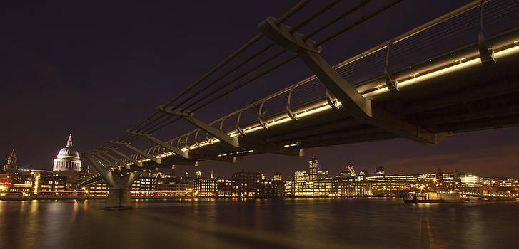 David French - Millenium Bridge Thames London