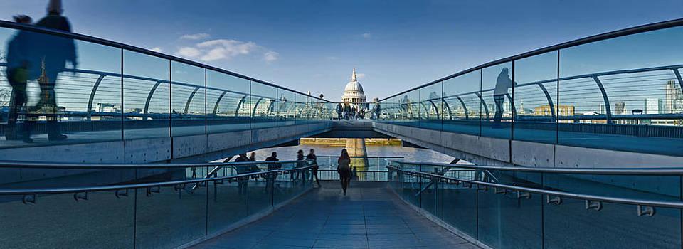 Millennium Bridge by Adrian Brockwell